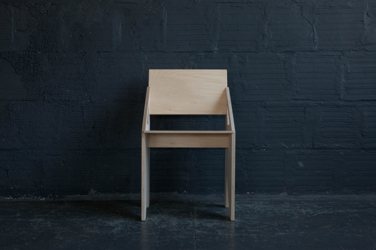 .001 Plywood Dining Chair Version II
