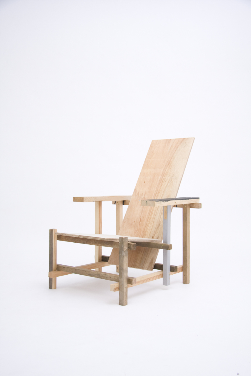 Waste Material Chair